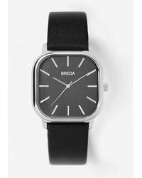Breda - Black / Silver Visser Watch - Lyst