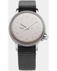 Miansai - Silver / Grey Nylon M12 Swiss Watch - Lyst