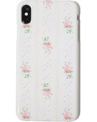 LoveShackFancy X Minnie And Emma Iphone X Case - White
