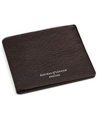 Aspinal of London 6 Card Billfold Wallet - Multicolor