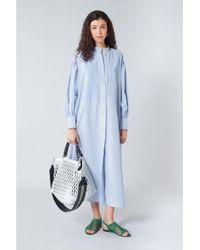 b9aeff6ee24 Co. Printed Silk Maxi Dress - Lyst