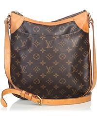 Lyst - Louis Vuitton Odeon Pm Shoulder Bag Monogram Canvas M56390 in ... 240610b1f5919