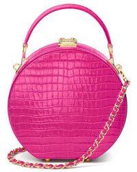 Aspinal of London Hat Box - Pink