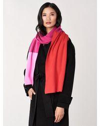 Diane von Furstenberg Alasdair Wool-cashmere Scarf - Red