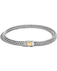 John Hardy - Classic Chain Hammered Bracelet - Lyst