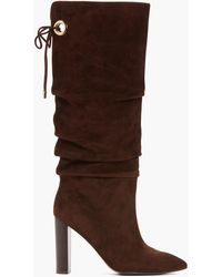 PAIGE Lily - Suede Brown