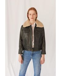 M.i.h Jeans - Hardy Leather Jacket - Lyst