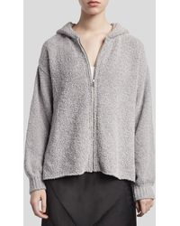 ATM Chenille Zip-up Hoodie - Heather Gray