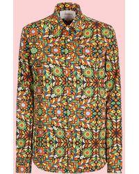 LaDoubleJ - Polipo Blu Men's Shirt - Lyst