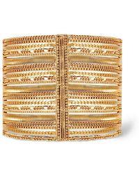 Rachel Zoe - Jasmine Multi-layer Chain Cuff - Lyst