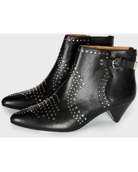 Joie - Bickson Stud (black Lamb Nappa) Women's Shoes - Lyst