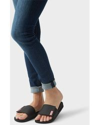 17792c638064 Lyst - HUNTER Jelly Thong Sandals - Original in Red