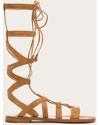 de66a7cec808 Lyst - Matisse  atlas  Tall Gladiator Sandal in Natural