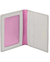 Aspinal of London - Id & Travel Card Holder - Lyst