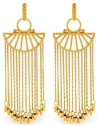 Rachel Zoe - Harp Fringe Earrings - Lyst