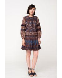 Sea - Gemma Cotton Peasant Dress - Lyst