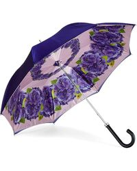 Aspinal of London Beautiful Soul Stand Up Umbrella - Purple