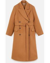 Stella McCartney - Wool-felt Coat - Lyst