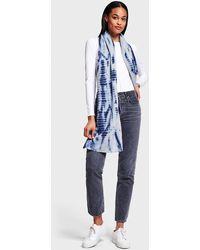 White + Warren - Tie Dye Mini Cashmere Travel Wrap - Lyst