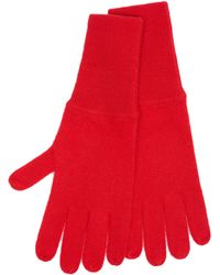 Allude Cashmere Gloves - Red