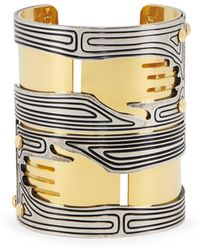 Lanvin Bracelet Gold/silver Brass