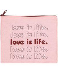Diane von Furstenberg Mantra Canvas Pouchette - Pink
