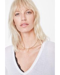 Anine Bing - Beaded Necklace - Lyst