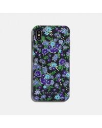 COACH - Iphone Xs Max Case With Posey Cluster Print - Lyst