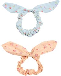 LoveShackFancy Nightingale Scrunchie Pack - Multicolor