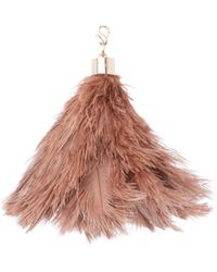 Okapi - Ostrich Feather / Mid Brown , Gold Hardware - Lyst