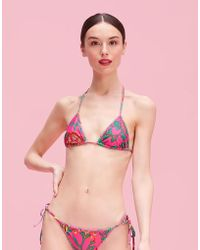 LaDoubleJ - Triangle Bikini Top - Lyst