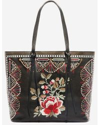 Johnny Was Embroidered Tippi Tote - Multicolor
