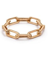 WALTERS FAITH Saxon 18k Rose Gold Chain Link Ring - Multicolor