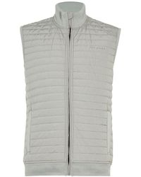 Ted Baker Albane Quilted Golf Gilet - Grey