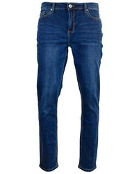 Farah Daubeney Stretch Denim Jeans - Blue