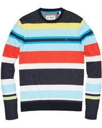 Original Penguin - Engineered Stripe Long Sleeve Tee - Lyst