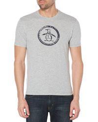 Original Penguin - Basic Circle Logo Tee - Lyst