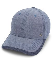 4bac57e3f32 Lyst - Old Navy Chambray Baseball Cap in Blue for Men