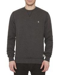 Original Penguin - Crew Neck Sweatshirt - Lyst