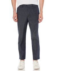 Original Penguin - Chambray Tapered Crop Trouser - Lyst