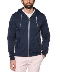 Original Penguin Hooded Ratner Jacket - Blue