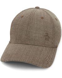 50eff1167 Stetson Herringbone Bandera Flat Cap in Brown for Men - Lyst