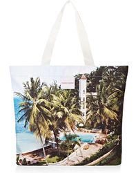 Orlebar Brown Clyde Beach Club Print Tote Bag - Multicolor