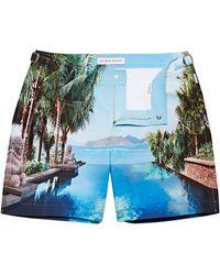 Orlebar Brown Mandarin Oriental Sanya Mid-length Swim Shorts - Multicolour