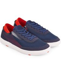 659aa5c83bd Orlebar Brown - Larson Navy red Shoe You Can Swim In - Lyst