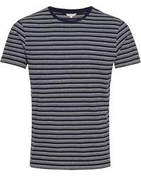 Orlebar Brown - Sammy T-shirt Mit Klassischer Passform Navy/white - Lyst