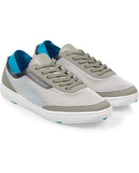 Orlebar Brown - Larson Grey/blue Shoe You Can Swim In - Lyst