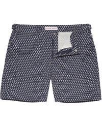 Orlebar Brown Bulldog Sport Cerchio Swim Shorts - Blue
