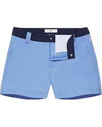 Orlebar Brown Thunderball Swimshort 007 Riviera/navy Shorter Length Swim Short - Blue