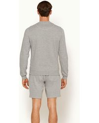 Orlebar Brown Afador Mid Grey Classic Fit Sweat Shorts